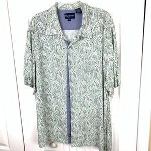 Nat Nast Short Sleeve Button Down Shirt